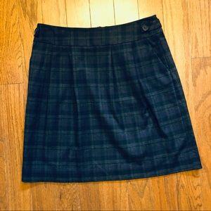 Halogen Plaid Skirt